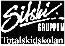 Totalskidskolan, en skidskola för alla där vi åker skidor, sitski, skicart och biski